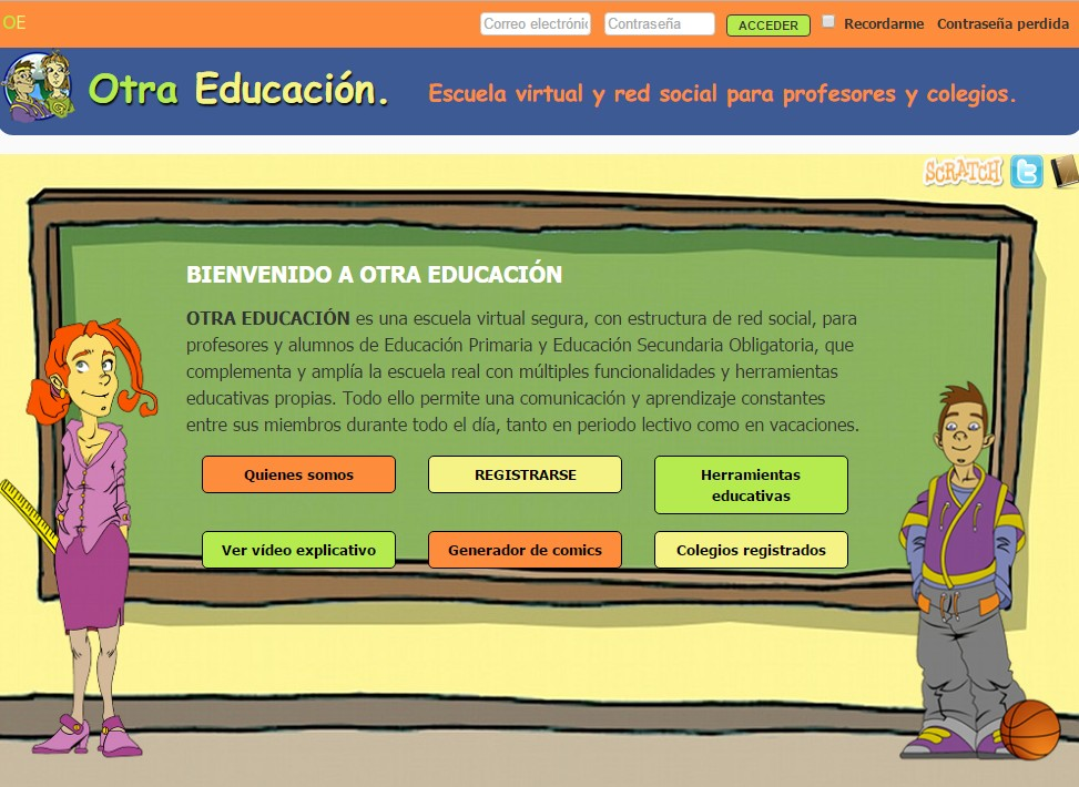 redes sociales educativas 6