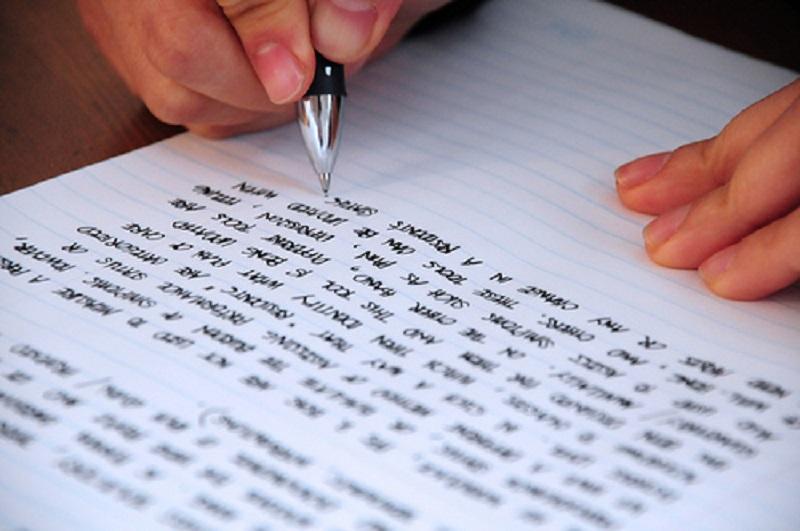 escribir sin faltas de ortografía