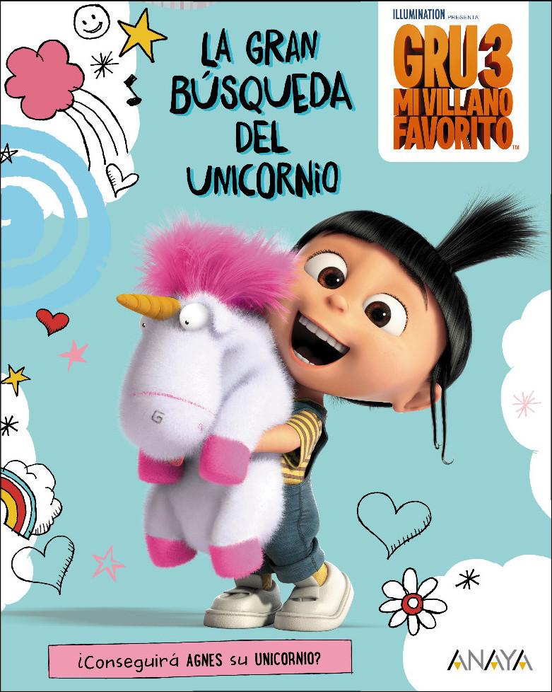 libro gru 3 la gran busqueda unicornio