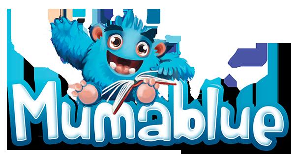 mumablue logotipo