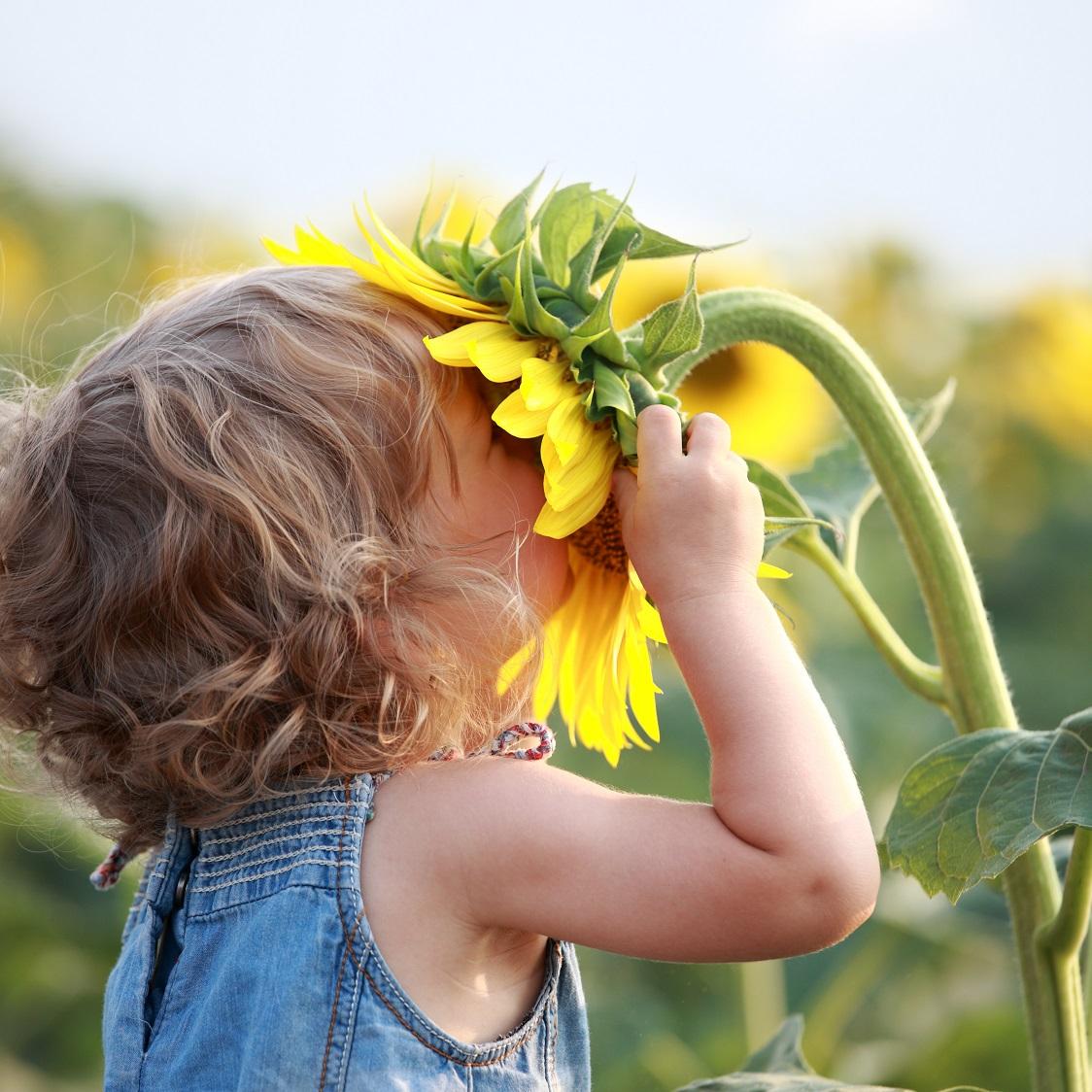 acercar los niños a la naturaleza