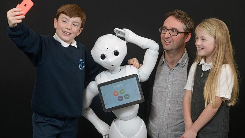 robots emocionales en educación