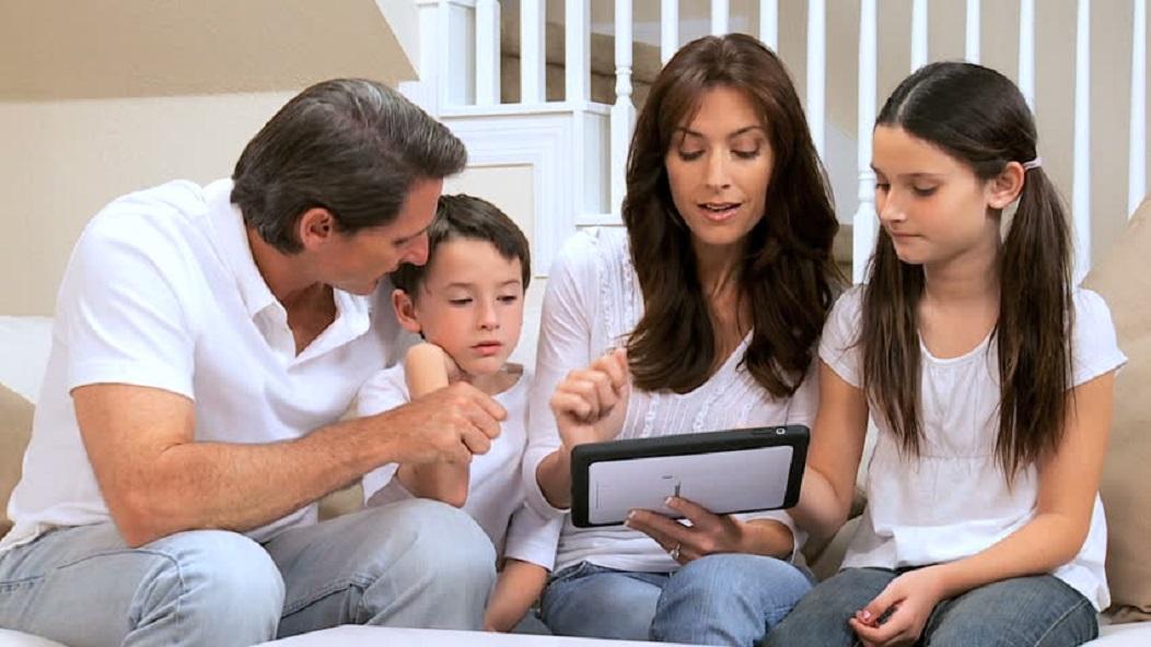compartir los dispositivos familiares
