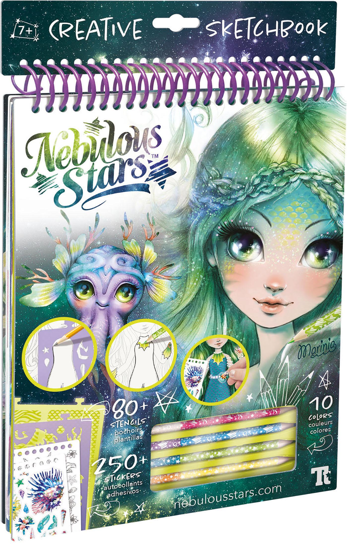 nebulous stars marinia creative sketchbook
