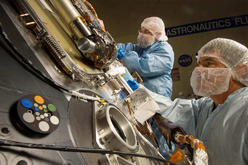 trabajar en la NASA