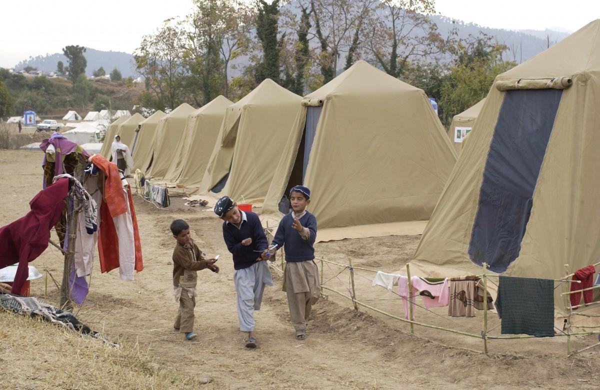 campamento refugiado