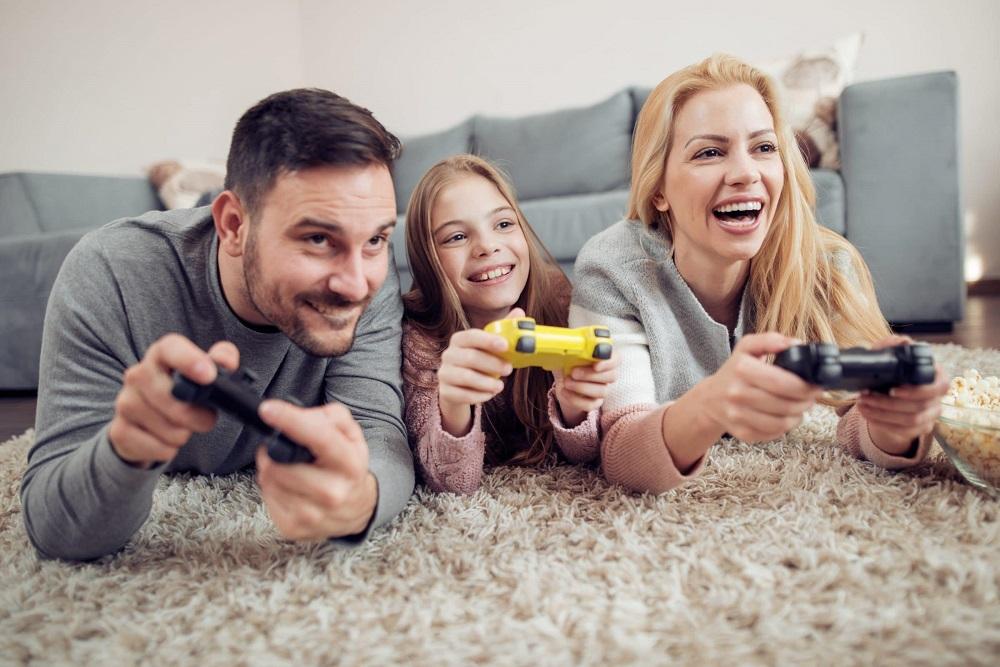 jugar en casa