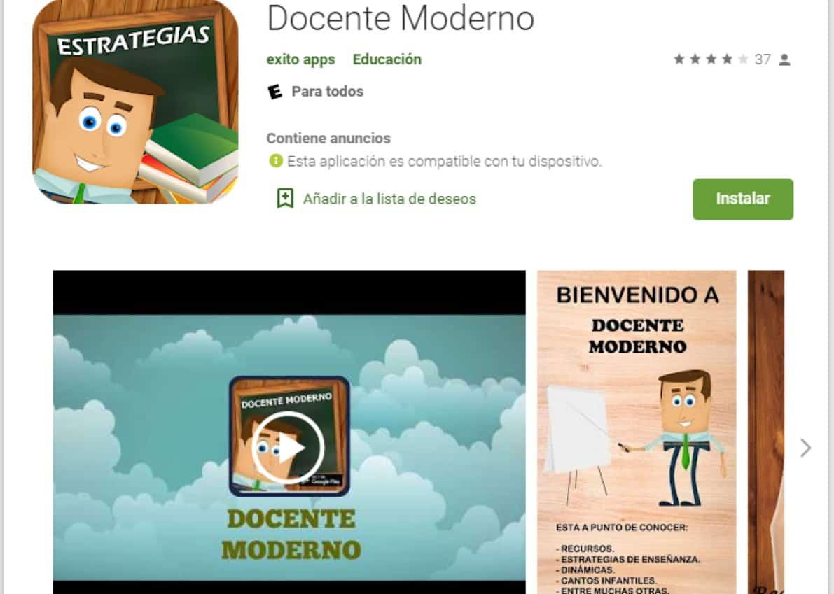 app para docentes docente moderno