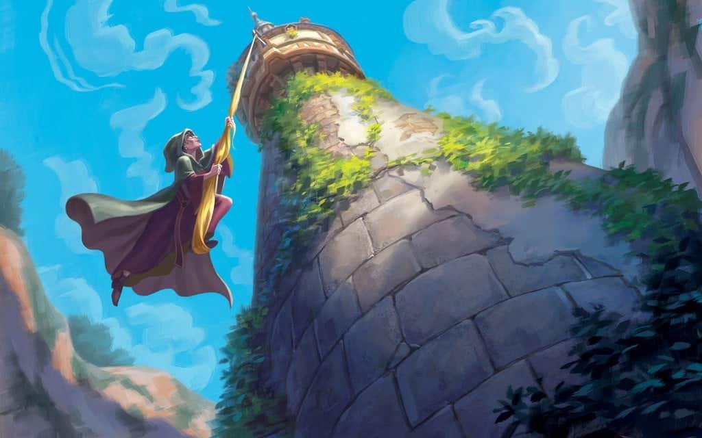 cuento clásico Rapunzel