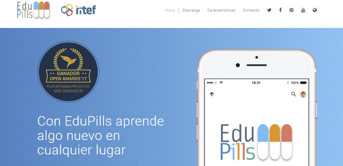 edupills app para profesores