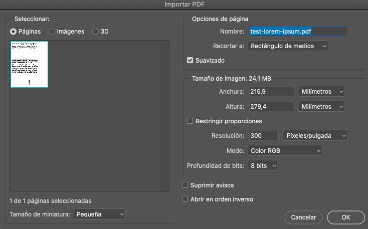 pintar pdf photoshop 7