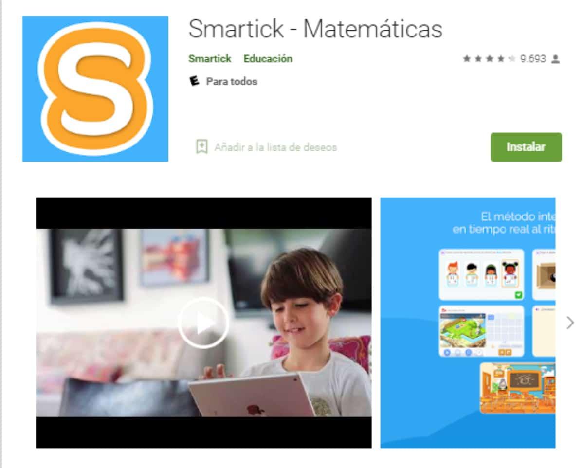 smartick app para matematicas