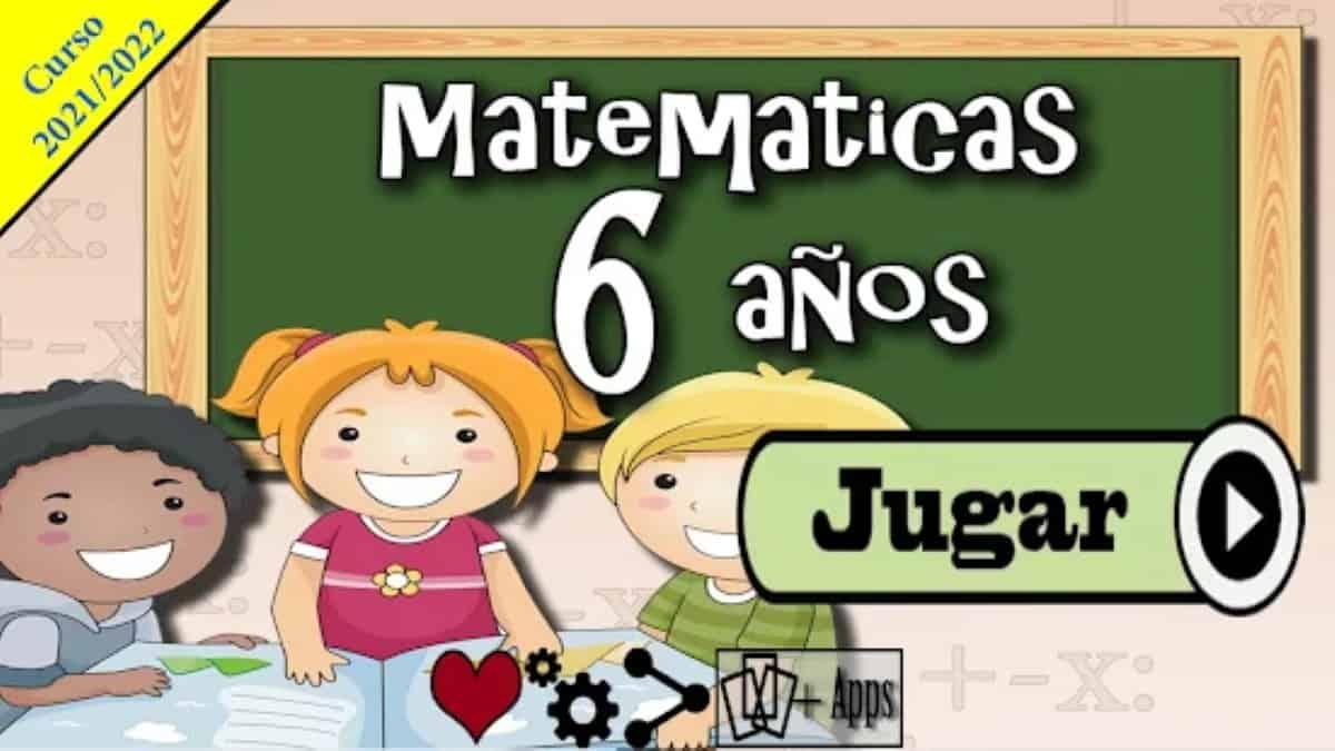 matematicas para 6 anos