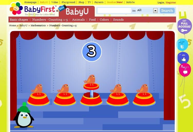 Aprender inglés con BabyU