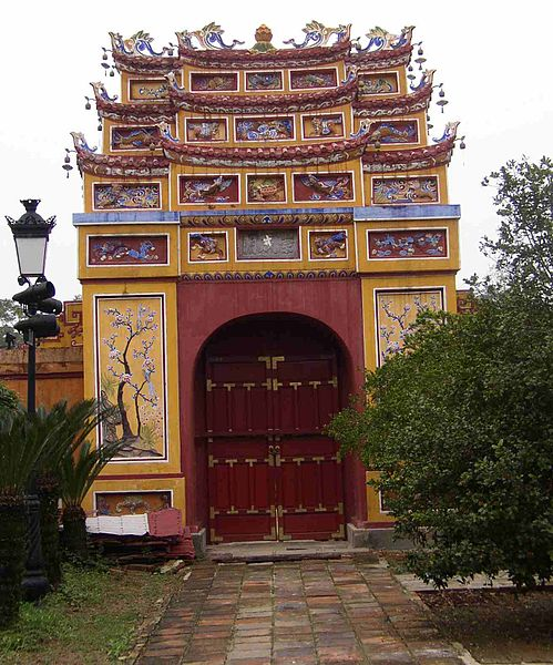 paisaje de hue vietnam