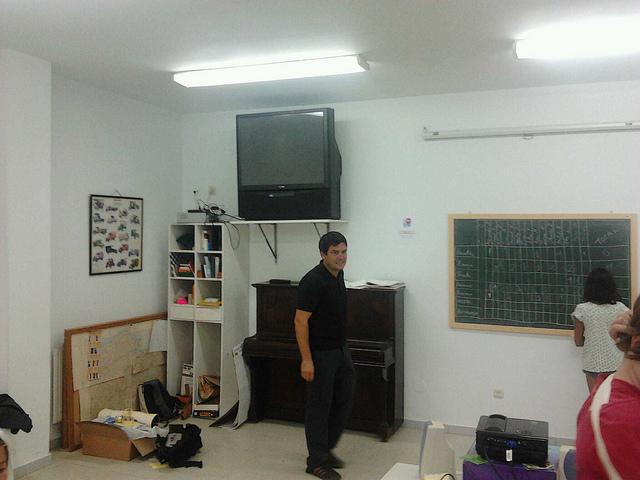 Javier Cuervo en Iniciador Kids