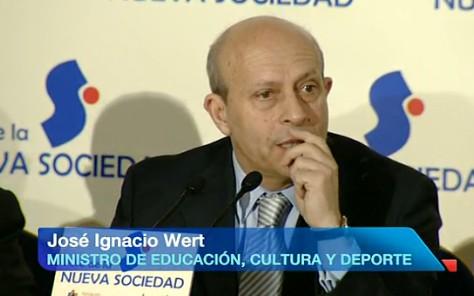 Jose Ignacio Wert ministro educacion
