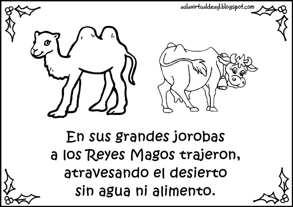 adivinanzas de Navidad para niños - camello