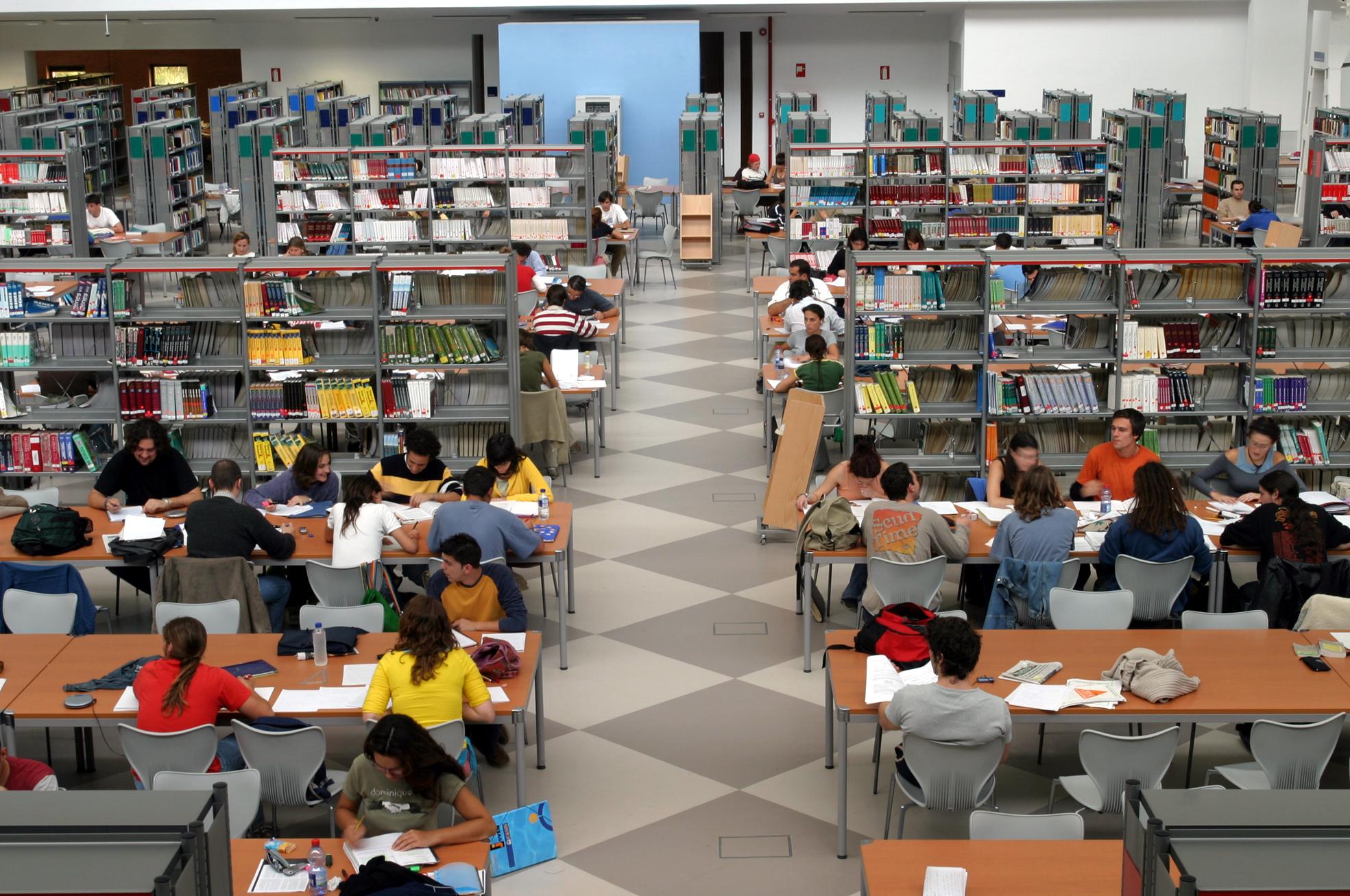 biblioteca campus