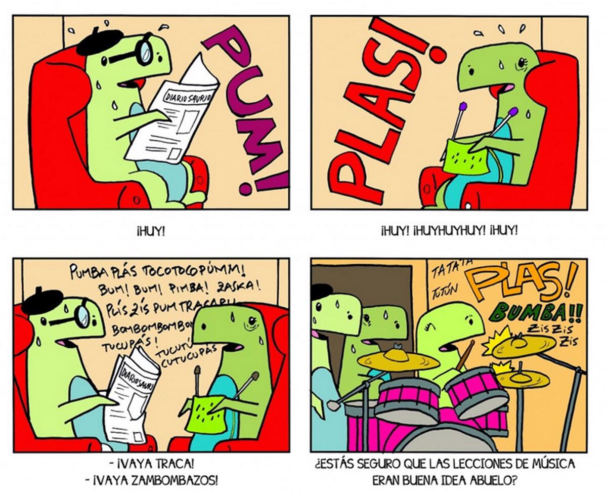 tiras cómicas para niños