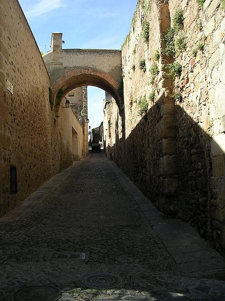 ciudad monumental de cáceres