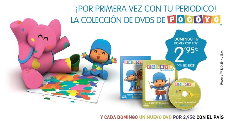 colección dvd pocoyo