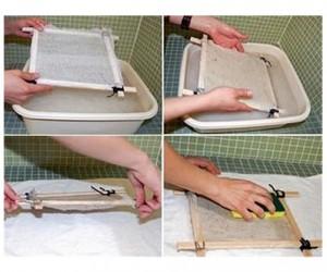 como hacer papel reciclado