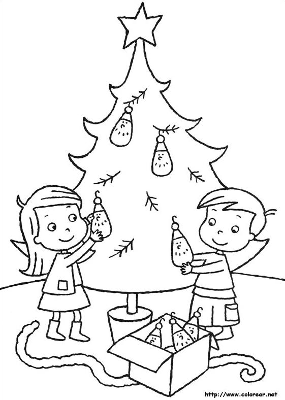 Dibujos para colorear en Navidad - Educación 2.0