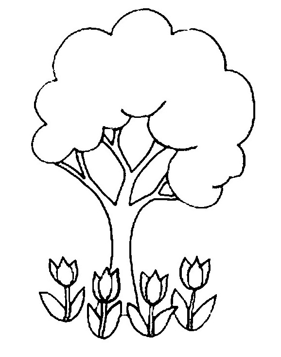 Pin Maestra De Infantil Dibujos Para Colorear La Primavera Lmm On