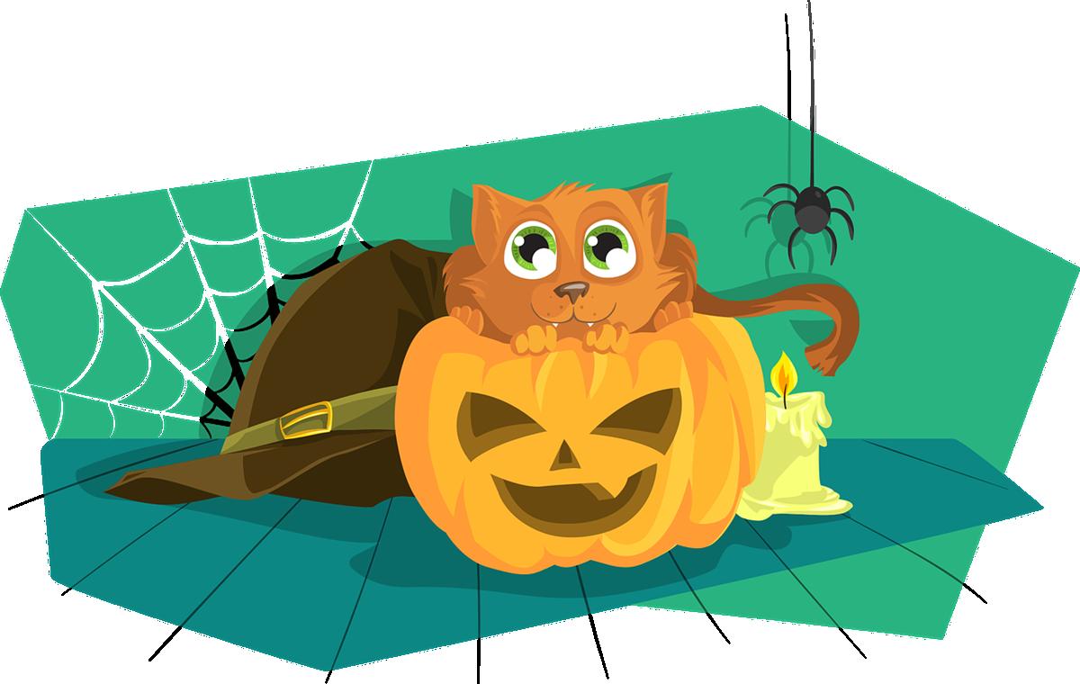 historia de halloween para niños