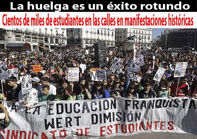 huelgas estudiantiles