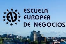 logo escuela europea de negocios