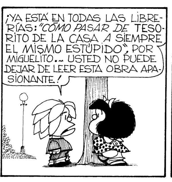 Aplicación gratis de Mafalda con sus tiras cómicas - Educación 2.0