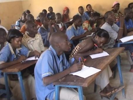 estudiantes de malí