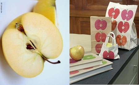 manualidades manzanas pintar