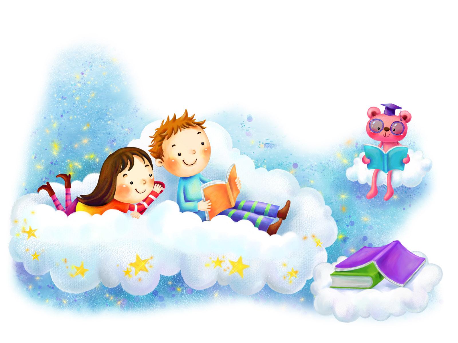 nenes leyendo