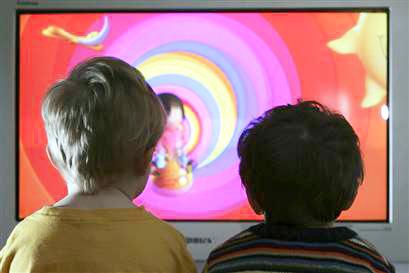 niños televisión