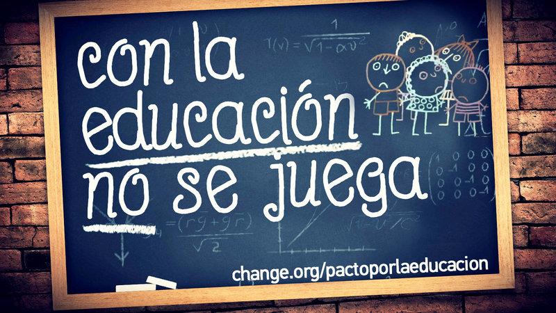 pacto por la educacion española
