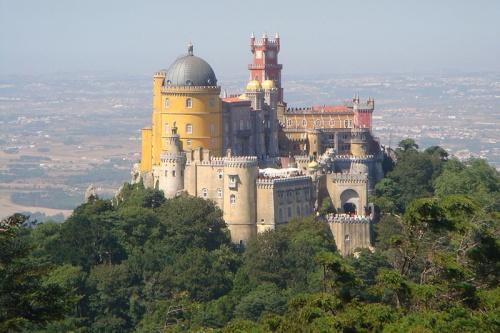 palacio en sintra portugal