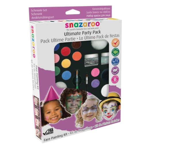 pintura cara niños
