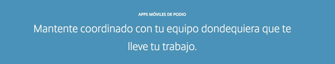 podio app