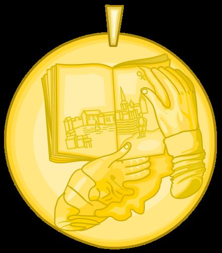 medalla premio cervantes