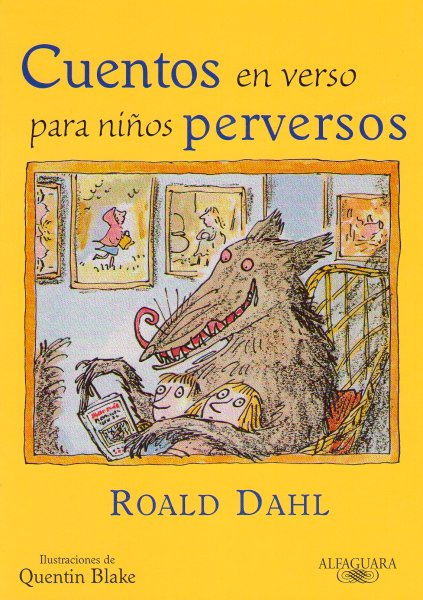 roald dahl cuentos en verso para niños perversos