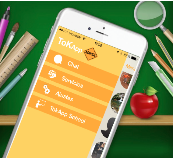tokApp aplicación educativa