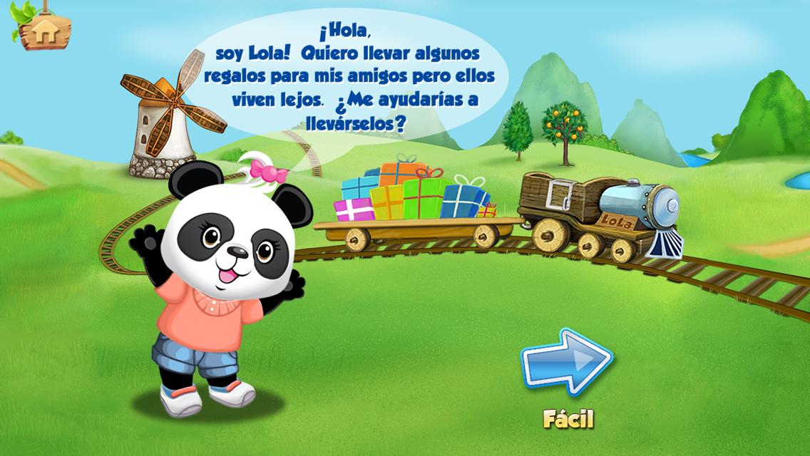 tren del alfabeto de lola aplicacion niños