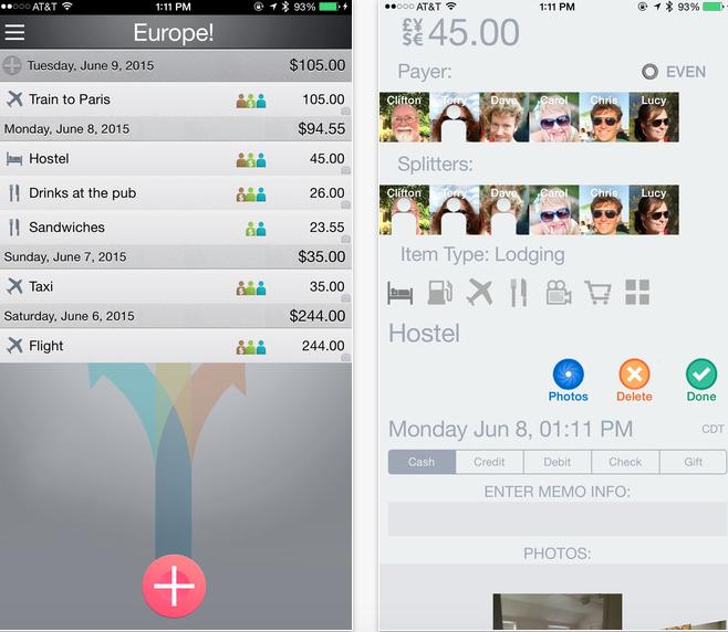 trip splitter app