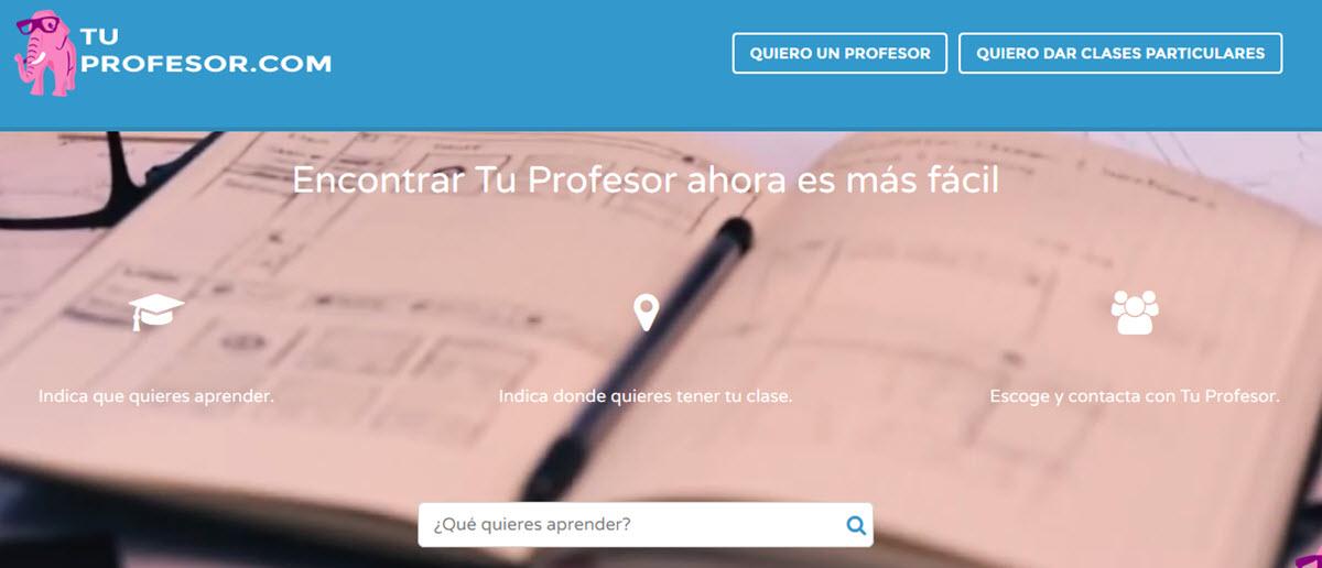 encontrar profesor online