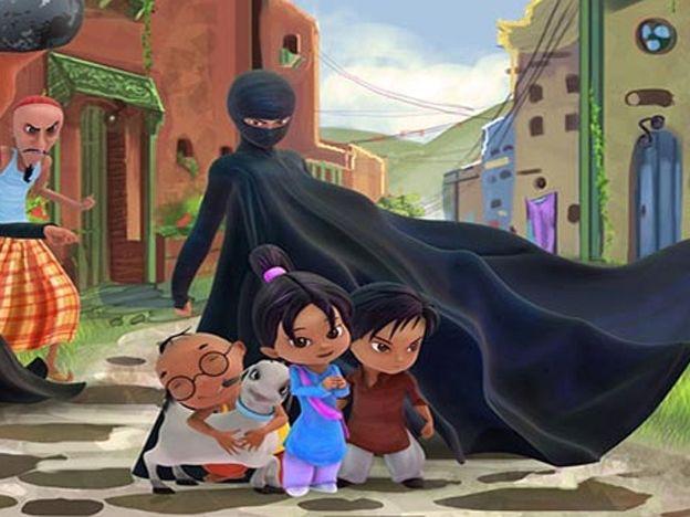 vengadora del burka