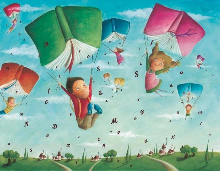 volando entre libros